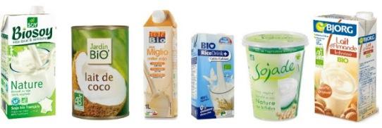 agent hydratant lait végétal yaourt soja lait coco cheveux noisette riz amande millet
